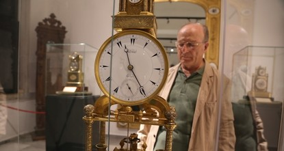 pThe clock master from Dolmabahçe Palace in Istanbul has spent the past eight years repairing historical clocks that were used during the Ottoman Empire./p  pThe mechanical clocks, some of which...