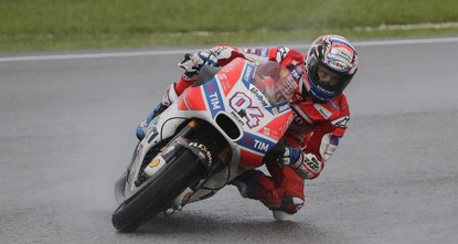pAndrea Dovizioso won a rainy Malaysian Grand Prix yesterday to keep the MotoGP title race alive as Marc Marquez's coronation was delayed with a fourth place finish. Italian Dovizioso overtook team...