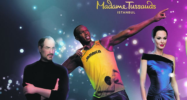 Wax figures for Istanbul's Madame Tussauds prepared in London