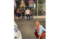 Muslim woman's pic at anti-Muslim protest goes viral