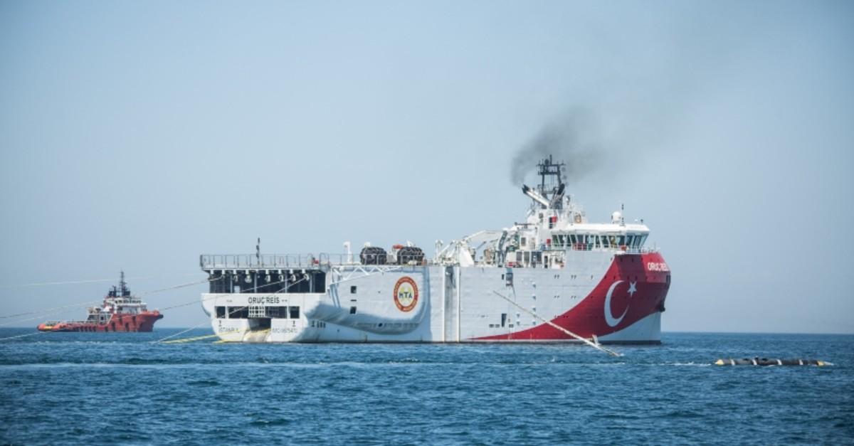 Oruu00e7 Reis Vessel (DHA Photo)