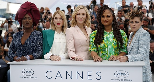 Jury Members R-L Kristen Stewart, Ava DuVernay, Cate Blanchett, Lea Seydoux and Khadja Nin pose during the jury photocall at the 71st annual Cannes Film Festival, in Cannes, France, May 8, 2018. EPA Photo