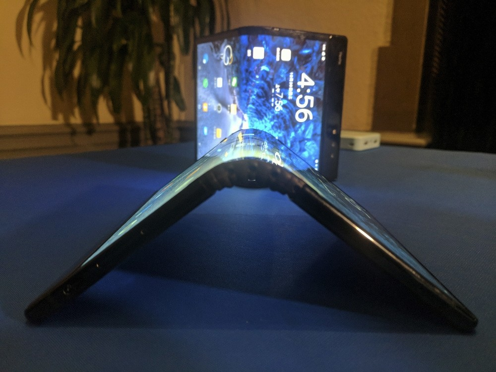 Royole Corp. recently unveiled what it is billing to be the world's first smartphone with a flexible screen, meaning the device can be folded like a billfold. The phone will go on sale next month.