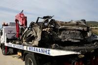 Ten migrants, smuggler die in horrific car crash in northern Greece