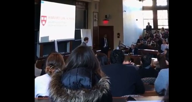 Harvard law students walk out of lecture held by Israeli Consul General - Daily Sabah