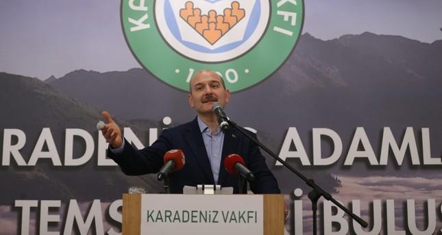 وزير الداخلية التركي: حيدنا 3333 عنصراً من بي كا كا في عامين
