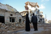 In Aleppo, dreaming of home but finding only rubble