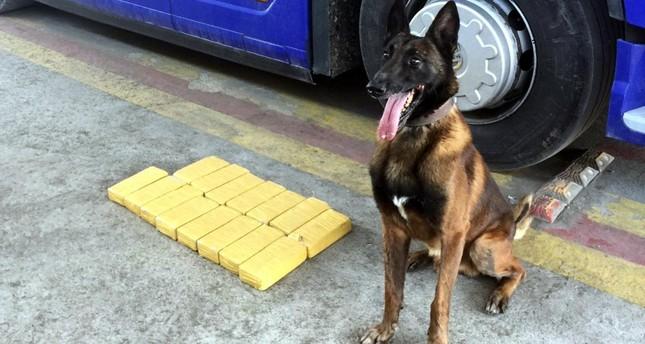 Police seize 15.5 kilograms of heroin in Mersin