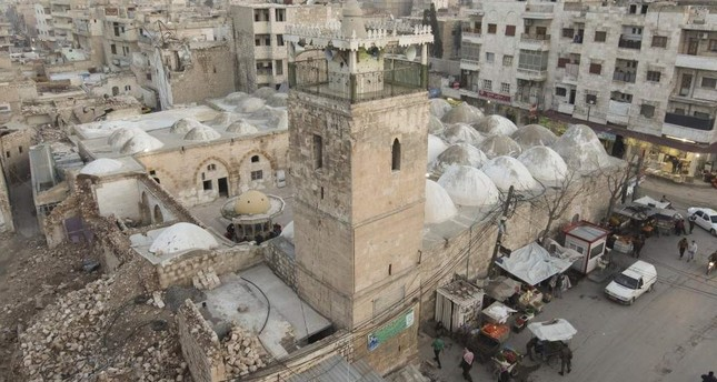 First prayers since Daesh occupation held in biggest mosque of Syria's al-Bab on Friday