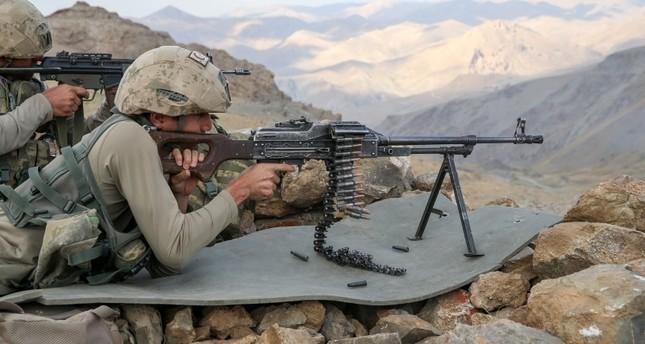 Turkish soldier killed by PKK fire in southeastern Turkey