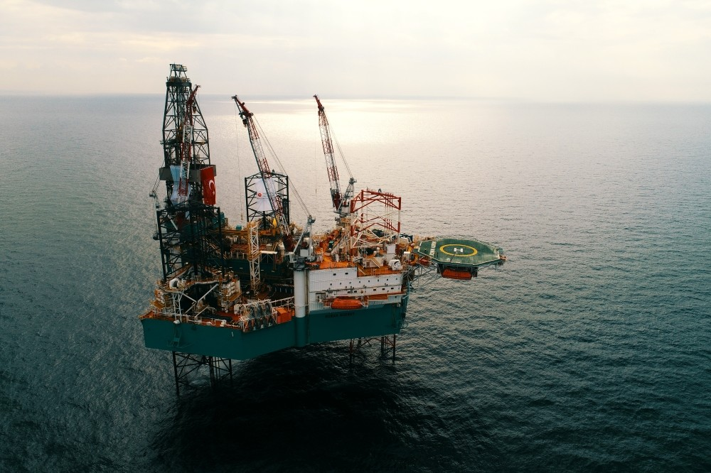 The well-drilling platform Tureky deployed in the Mediterranean began operations on Monday as part of the country's efforts to seek its rights in the region per international law.