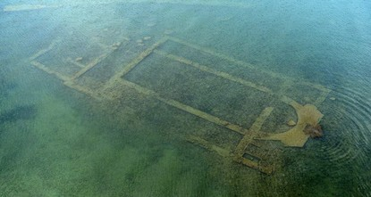 Submerged basilica to be opened as underwater archaeological museum
