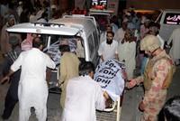 Blast targeting election rally kills 128 in Pakistan