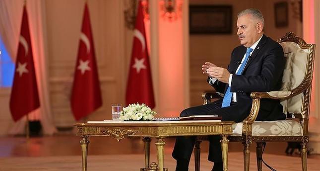 يلدريم: عازمون على مواصلة حربنا ضد المنظمات الإرهابية الدنيئة