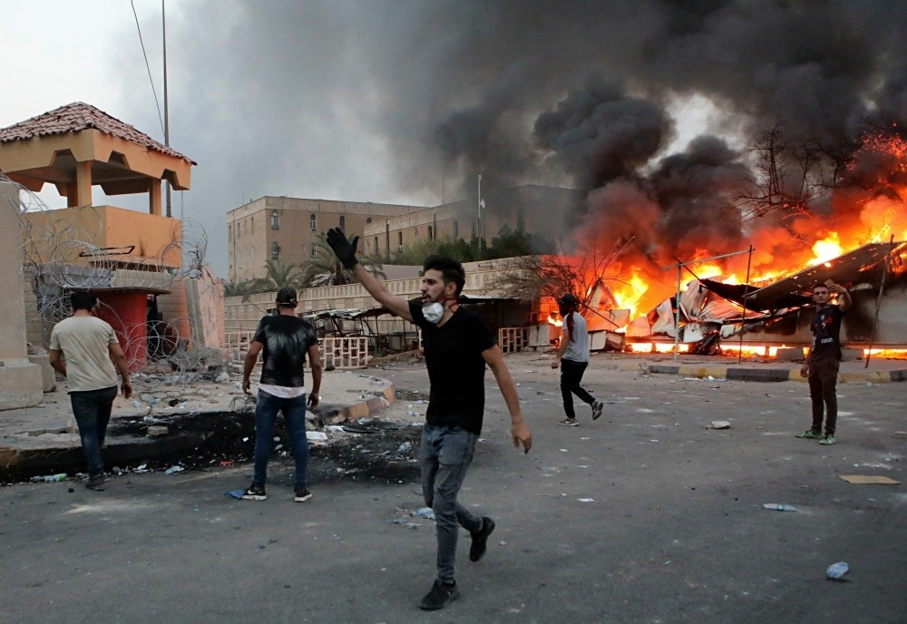 Weeks of violent protests in the streets of Iraq's oil-exporting capital, Basra, has threatened to spread to other cities.