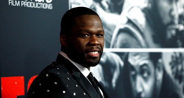 Cast member 50 Cent poses at the premiere for Den of Thieves in Los Angeles, Calif., U.S., January 17, 2018. (Reuters Photo)