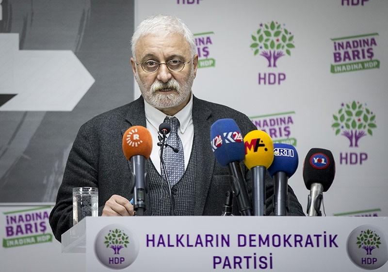 HDP spokesman Saruhan Oluu00e7 (AA Photo)