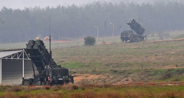 Patriot missile systems stationed in southern Turkey's Kahramanmaraş province, Feb. 23, 2013.