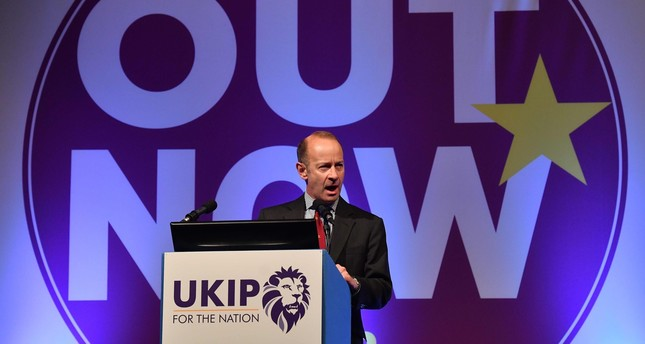 Britain's UKIP votes to remove leader Henry Bolton