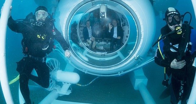 Antalya launches submarine as new tourist attraction