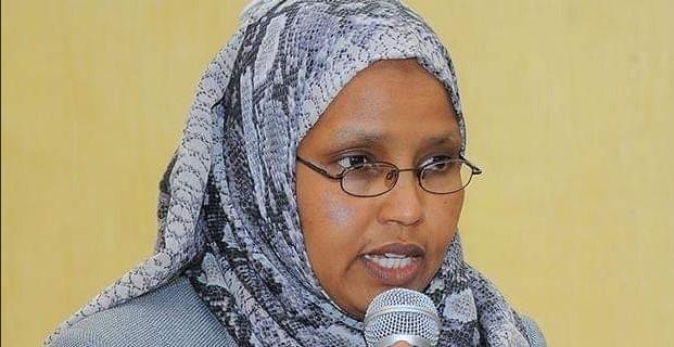 Ethiopia's first female defense minister, Aisha Mohammed (Photo via Twitter)