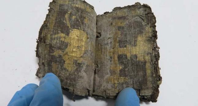 1,500-year-old Egyptian amulet books recovered in southwest Turkey's Denizli