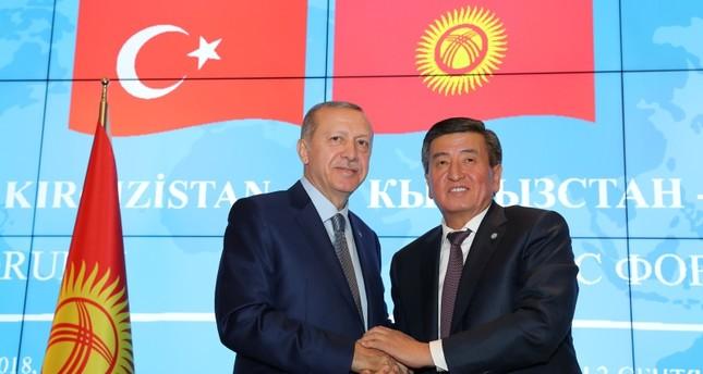 الرئيس القرغيزي يدعو الأتراك للاستثمار في بلاده