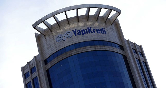 In this file photo, Yapı Kredi headquarters is pictured in Istanbul, Feb. 3, 2016. Reuters Photo