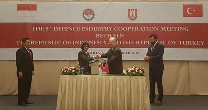 مباحثات تركية - إندونيسية للتعاون في مجال الصناعات الدفاعية