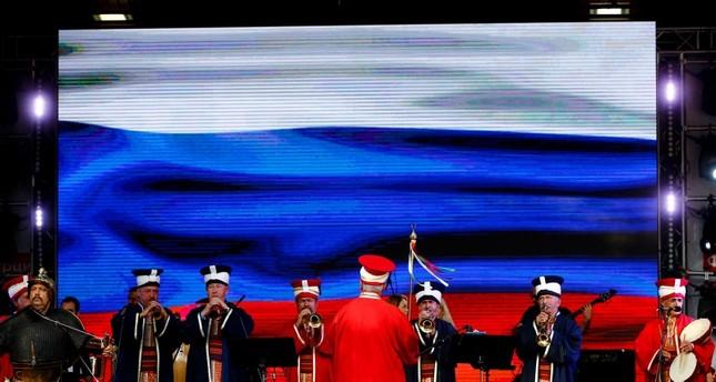 انطلاق فعاليات مهرجان تركيا الثقافي في موسكو