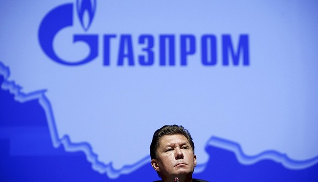 Alexei Miller, chief executive of Russia's top natural gas producer, Gazprom, attends a news conference after an annual general shareholders meeting of the company in Moscow, Russia June 26, 2015. (Reuters Photo)