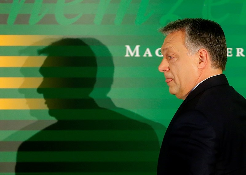 Hungarian Prime Minister Viktor Orban attends a business conference in Budapest, Hungary on Feb. 28, 2017. (Reuters Photo)