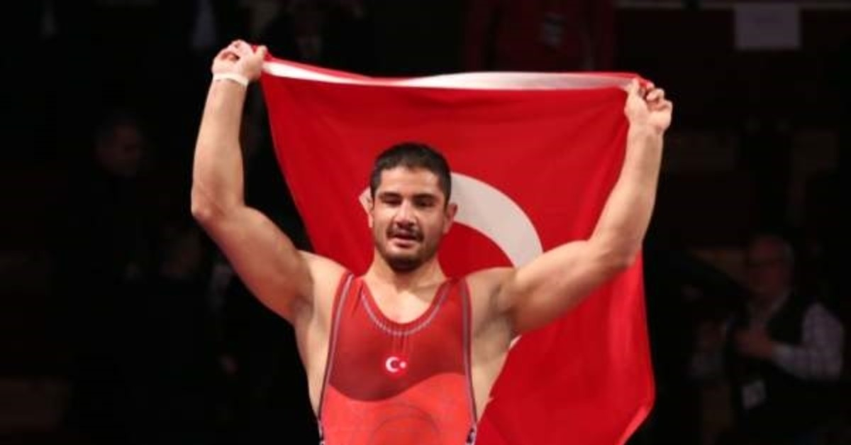 Seven-time Europe champion Taha Akgu00fcl is among the wrestlers who will compete in China (AA Photo).
