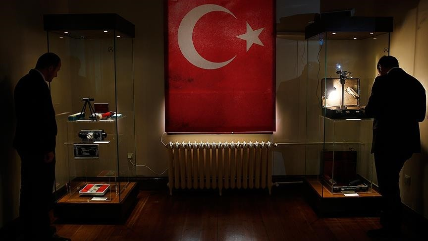The MIT exhibition can be visited by people until June 3 in Ulus, Ankara.