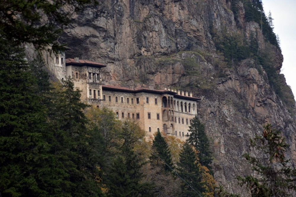Nested on Mela Mountain and recognized by UNESCO, Su00fcmela Monastery is getting ready to host visitors once again.