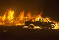 11 dead as ferocious fires sweep California, forcing evacuations
