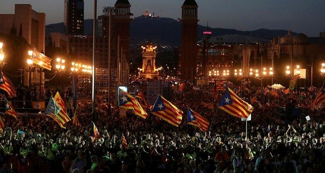 Catalan government says 90 percent vote for independence
