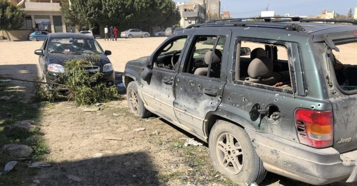 Libya's legitimate government has been under attack by Haftar's forces since last April, claiming the lives of more than 1,000 people. (IHA PHOTO)