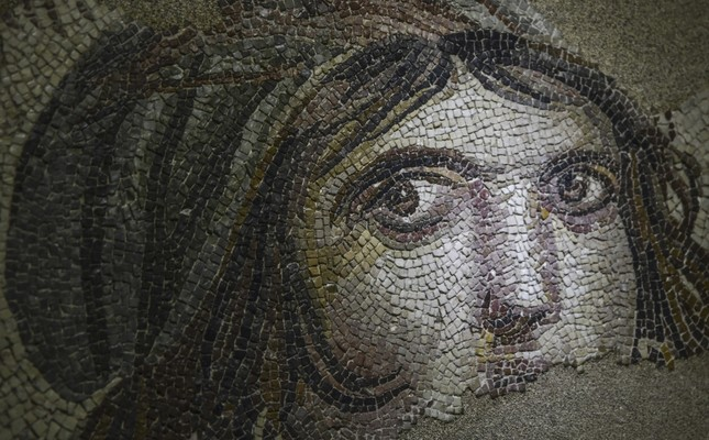 "The ""Gypsy Girl"" mosaic is the most recent artifact that has been repatriated to homeland."