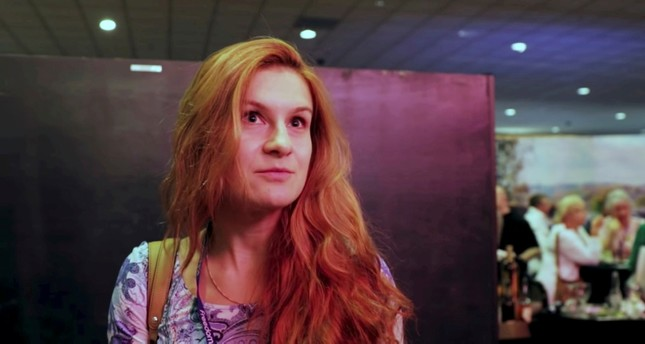 Accused Russian agent Maria Butina speaks to camera at 2015 FreedomFest conference in Las Vegas, Nevada, U.S., July 11, 2015 in this still image taken from a social media video obtained July 19, 2018. (Reuters Photo)