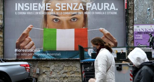 إيطاليا تسجل 651 وفاة جديدة بفيروس كورونا وحصيلة الوفيات الإجمالية تناهز 5,500