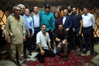 Maduro visits set of Resurrection: Ertuğrul, invites producer for a joint project in Venezuela