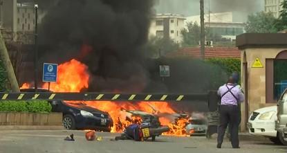 إنفجار وإطلاق نار بالقرب من فندق ومجمع للأعمال في نيروبي