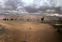 'Like an apocalyptic movie': Dust storms and giant hail batter bushfire-weary Australia