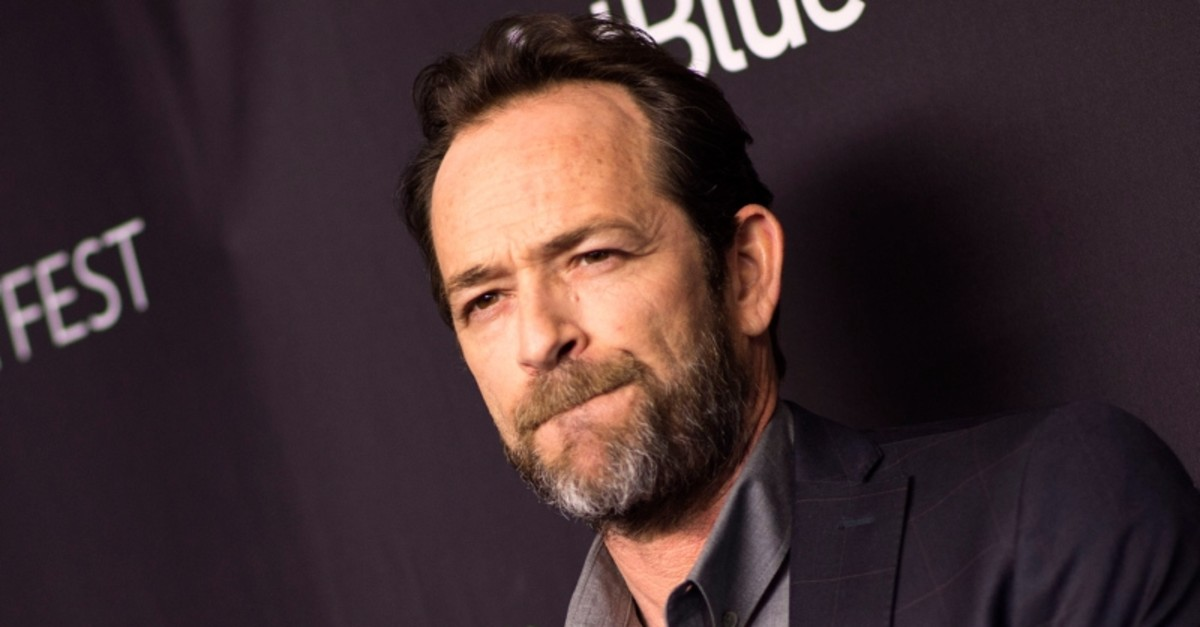 In this file photo taken on March 25, 2018 Actor Luke Perry attends The 2018 PaleyFest screening of ,Riverdale, at the Dolby Theater in Hollywood, California. (AFP Photo)