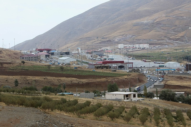 Haj Omran border is seen, on the border between Iran and Kurdistan Regional Government (KRG), Iraq, Oct. 3, 2017. (Reuters Photo)