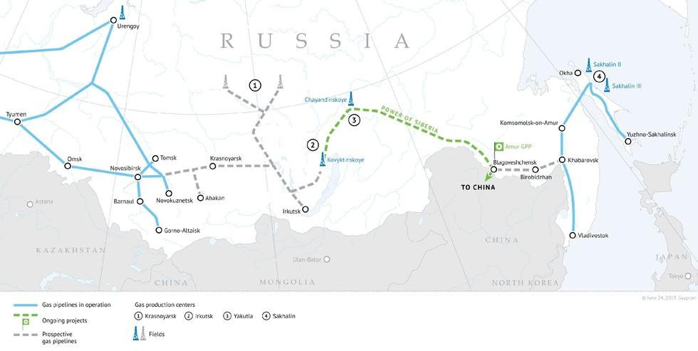 Courtesy of Gazprom.
