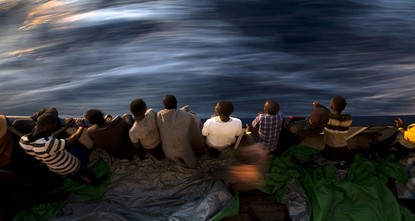 pThe Italian and Libyan coastguard have rescued more than 3,400 migrants trying to cross the Mediterranean to Europe since Friday, the two countries' coastguards said./p  pMost were rescued in 18...