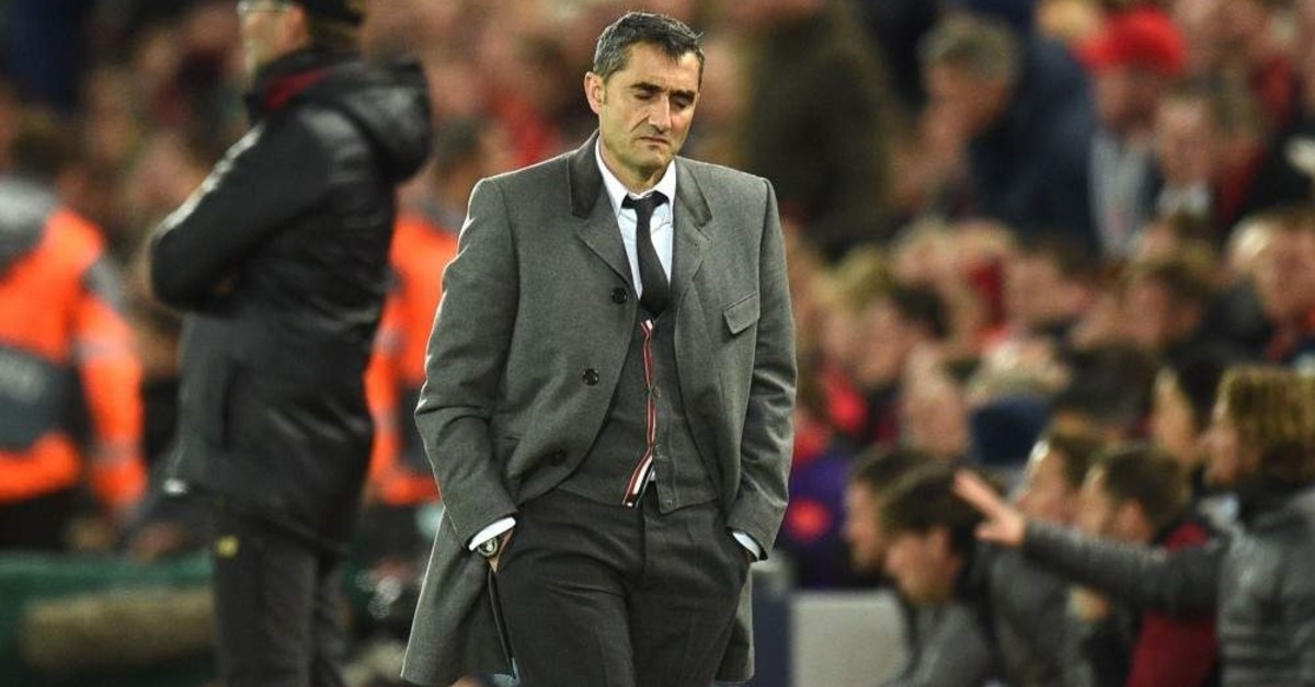 Valverde's sacking marks the first time since 2003 that Barca has made a change in the middle of the season. (AFP Photo)