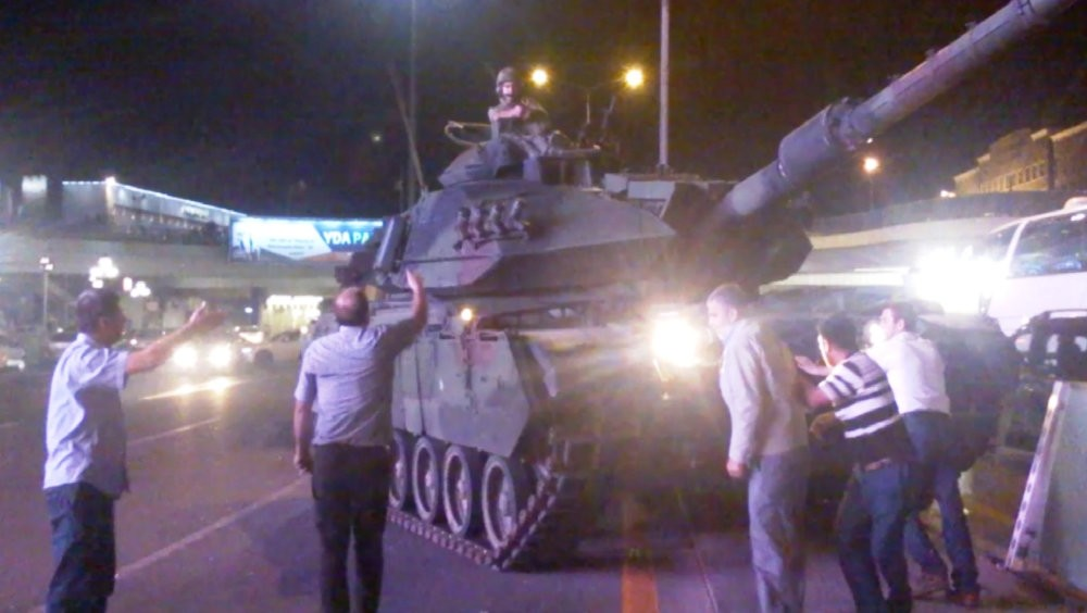 Tanks under the command of FETu00d6 members wreaked havoc in Ankara and Istanbul on July 15, 2016.